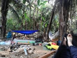 Camp de base de CBMA1 dans la vallée centrale