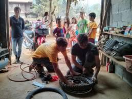 Réparation de nos motocyclettes