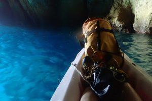 Dans la grotte de l'Oule
