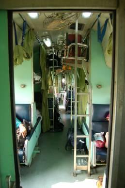 Train de nuit de Bangkok à Nong Khaï